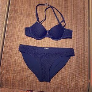 Navy Bikini Set